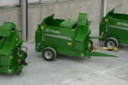 trzy maszyny McHale C460