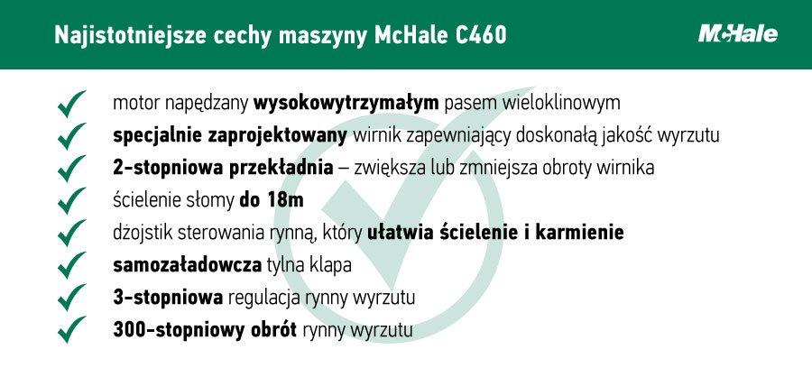 cechy McHale C460