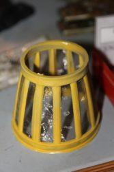 Sitko wirnikowego filtra oleju