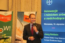 Konferencja prasowa Bayer - Joerg Rehbein