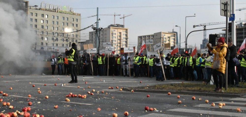 Kolejny protest rolników. Dlaczego zablokowali Warszawę?