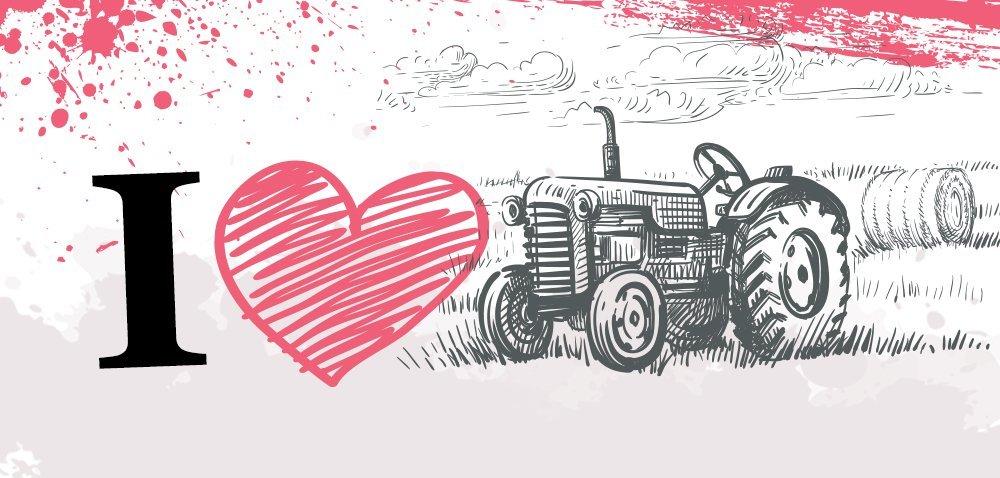Jaki traktor sprzyja amorom? Ciągnik dla zakochanych