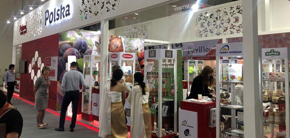 Polskie produkty wypadły świetnie na targach żywności wTajlandii [AKTUALNOŚCI]