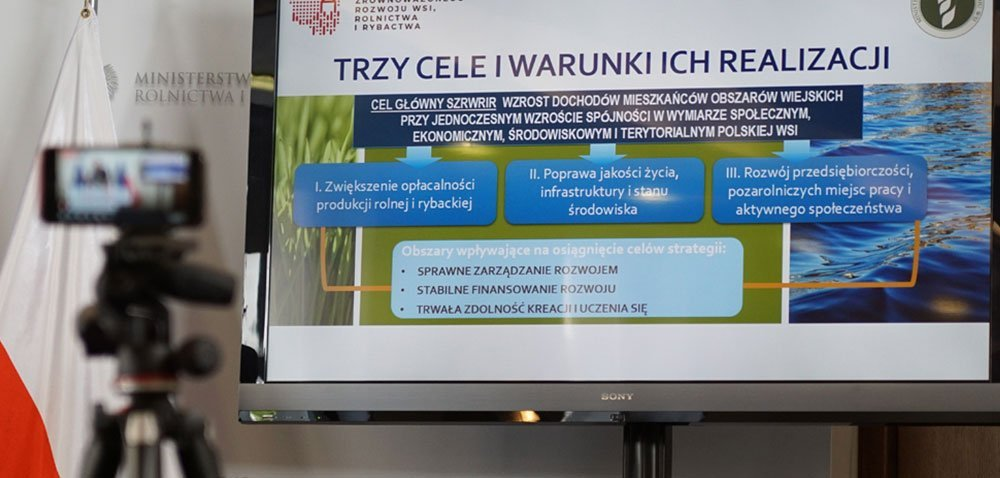 Przyszłość polskiego rolnictwa leży wdobrze przemyślanej strategii [AKTUALNOŚCI]