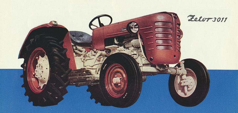 Zetor Major – legendarny ciągnik rolniczy