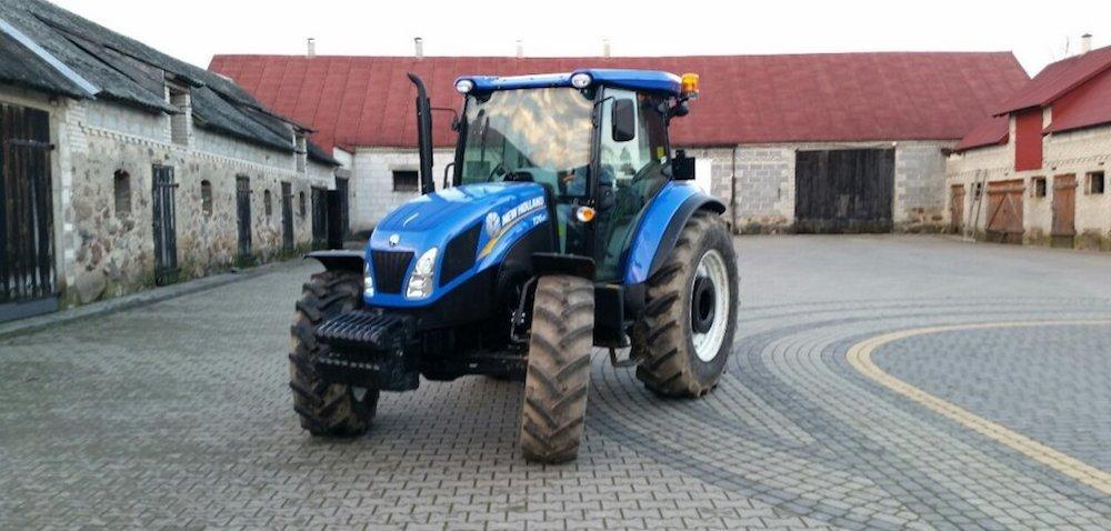 New Holland TD5.85: cena idane techniczne ciągnika