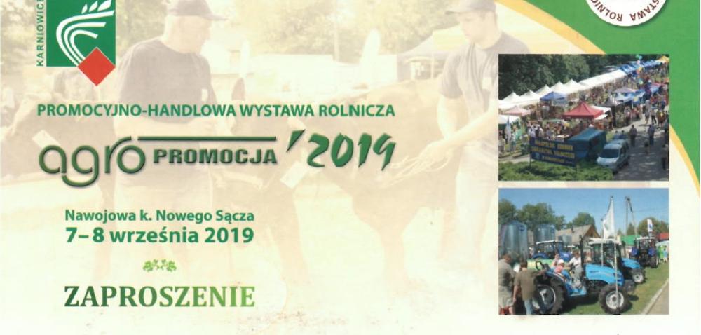 Agropromocja 2019 – XXIX Międzynarodowa Wystawa Rolnicza