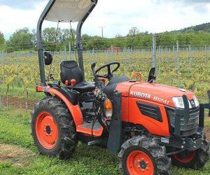 Kubota B1241 uwija się przy produkcji wina