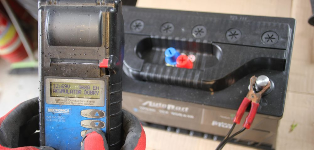 Problemy zakumulatorem wciągniku