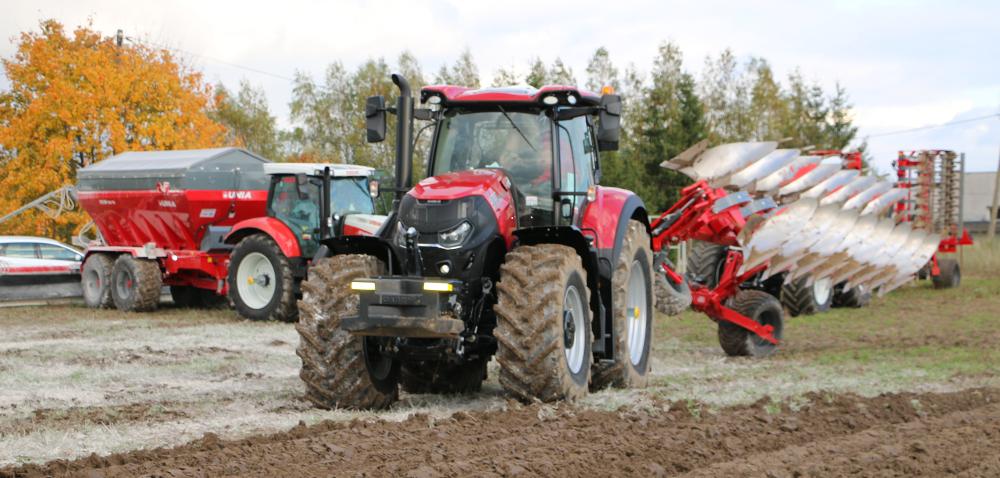 Maszyny rolnicze Unia. Zobacz film zpokazów polowych!
