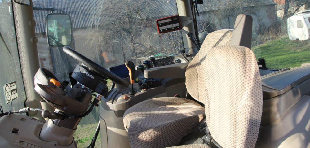Kabina wciągniku rolniczym . Historia prawdziwa