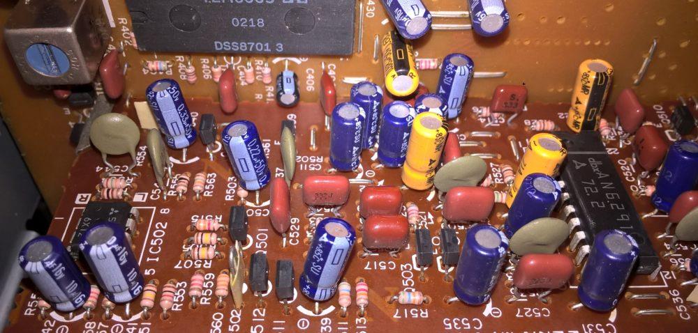 Elektronika wciągniku