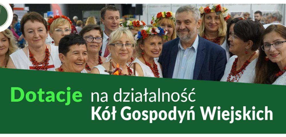 Dotacje dla Kół Gospodyń Wiejskich 2020 – nawet po 5tys. zł!