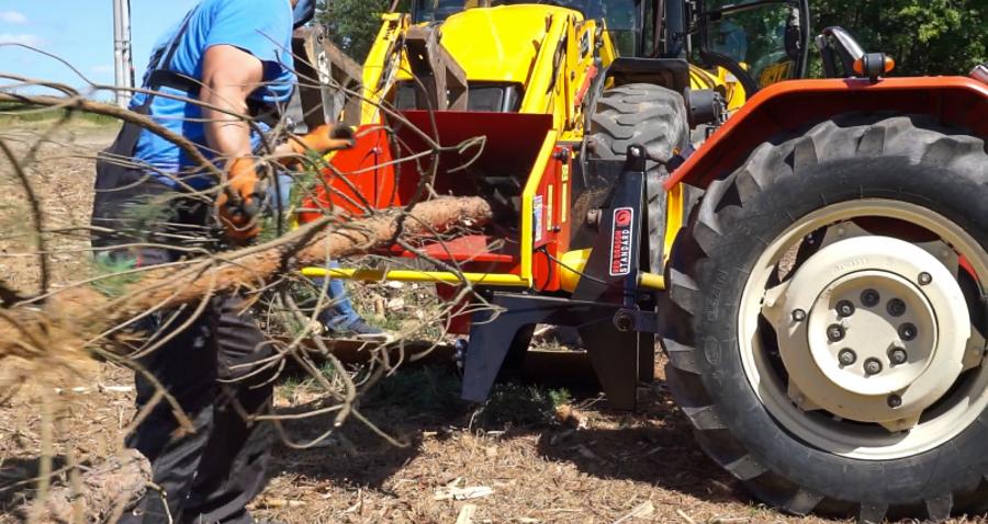 Rębak do gałęzi ipni drzew – urządzenie przydatne wgospodarstwie