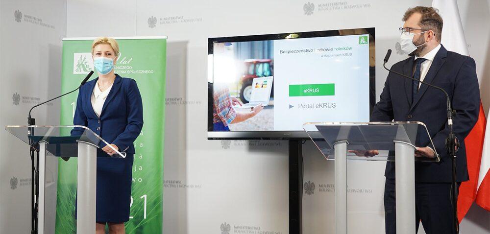 Rehabilitacja ie-usługi KRUS dostępne dla rolnika. Dowiedz się więcej!
