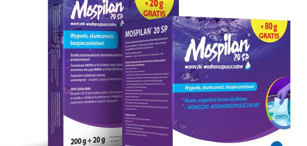 MOSPILAN® 20 SP – zwiększenie dawki wuprawie ziemniaka