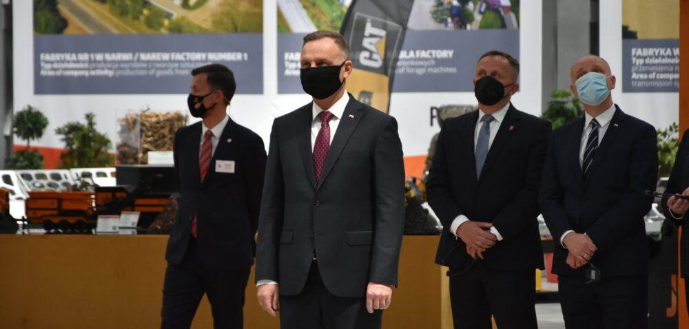 Prezydent RP odwiedził Pronar wSiemiatyczach