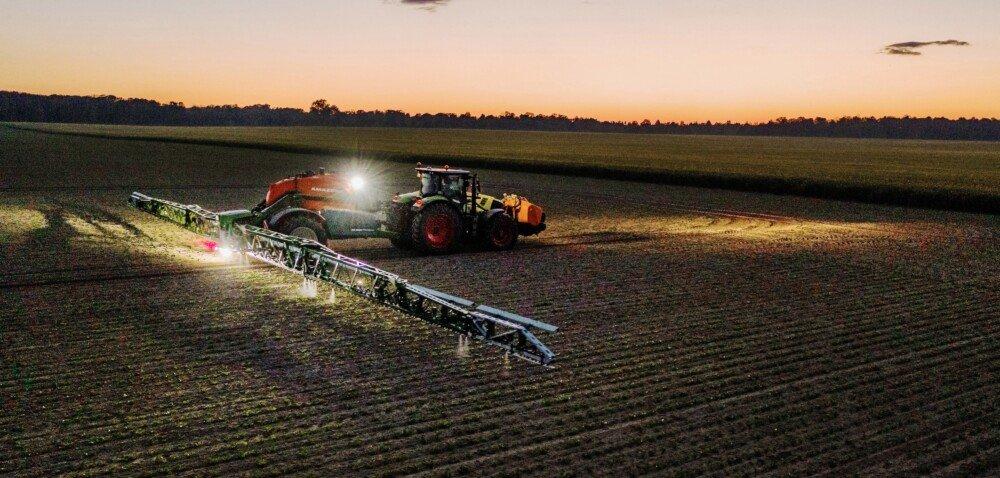 Nowe rozwiązanie Smart Spraying utworzone przez BASF iBosch