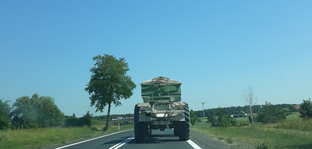 Rejestracja maszyn rolniczych. Problemy zruchem drogowym?