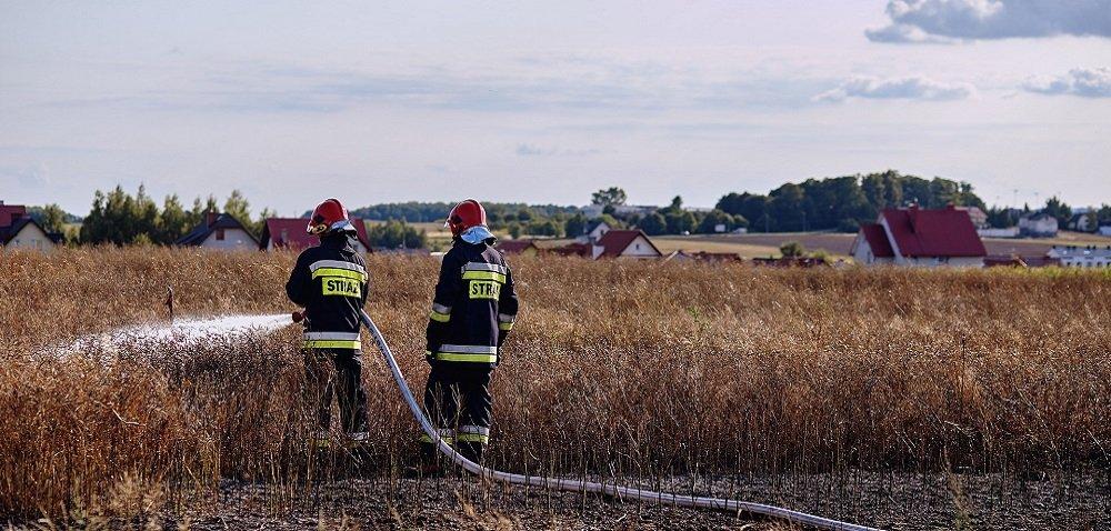 Wypadki rolnicze 2021 – pijany traktorzysta ipożar masarni