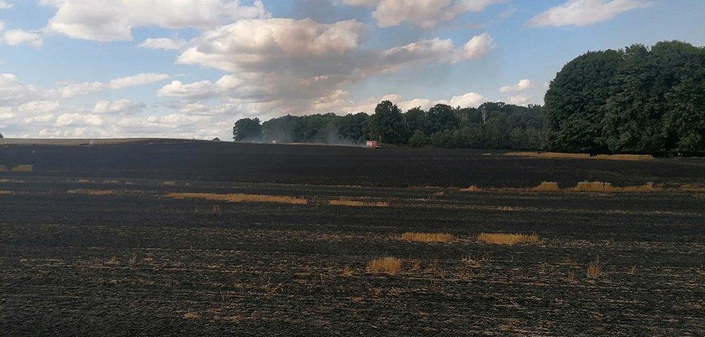 Bezpieczne żniwa 2021 – podsumowanie pożarów iwypadków rolniczych