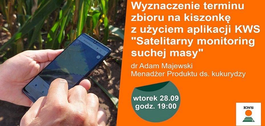 Kukurydziany webinar KWS – już wnajbliższy wtorek 28.09!